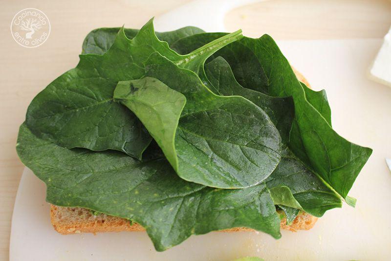 Sandwich de espinacas, aguacate y queso (10)