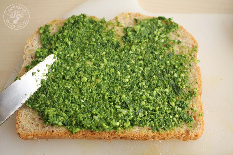 Sandwich de espinacas, aguacate y queso (9)