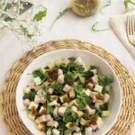 Ensalada de manzana, pavo y queso fresco con vinagreta de mostaza (25)