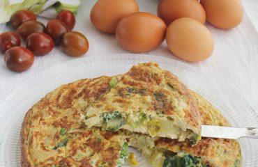 Tortilla de lechuga receta (2)