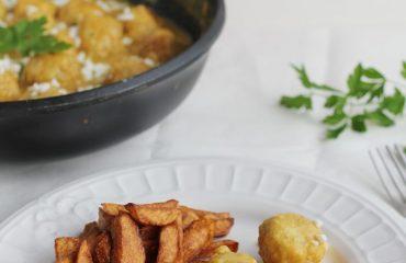 Albondigas de pollo en pepitoria receta (12)