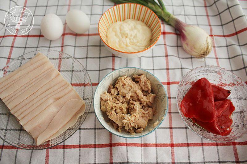 Canelones de verano receta