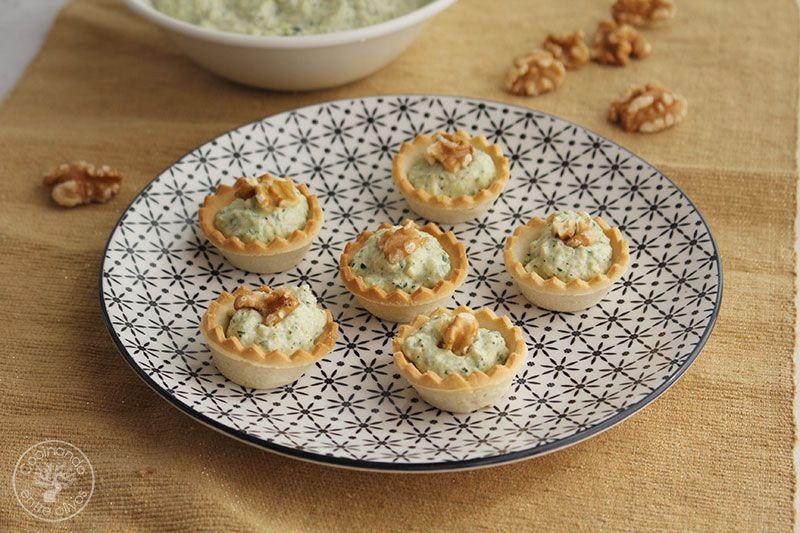 Paté de calabacin con queso azul