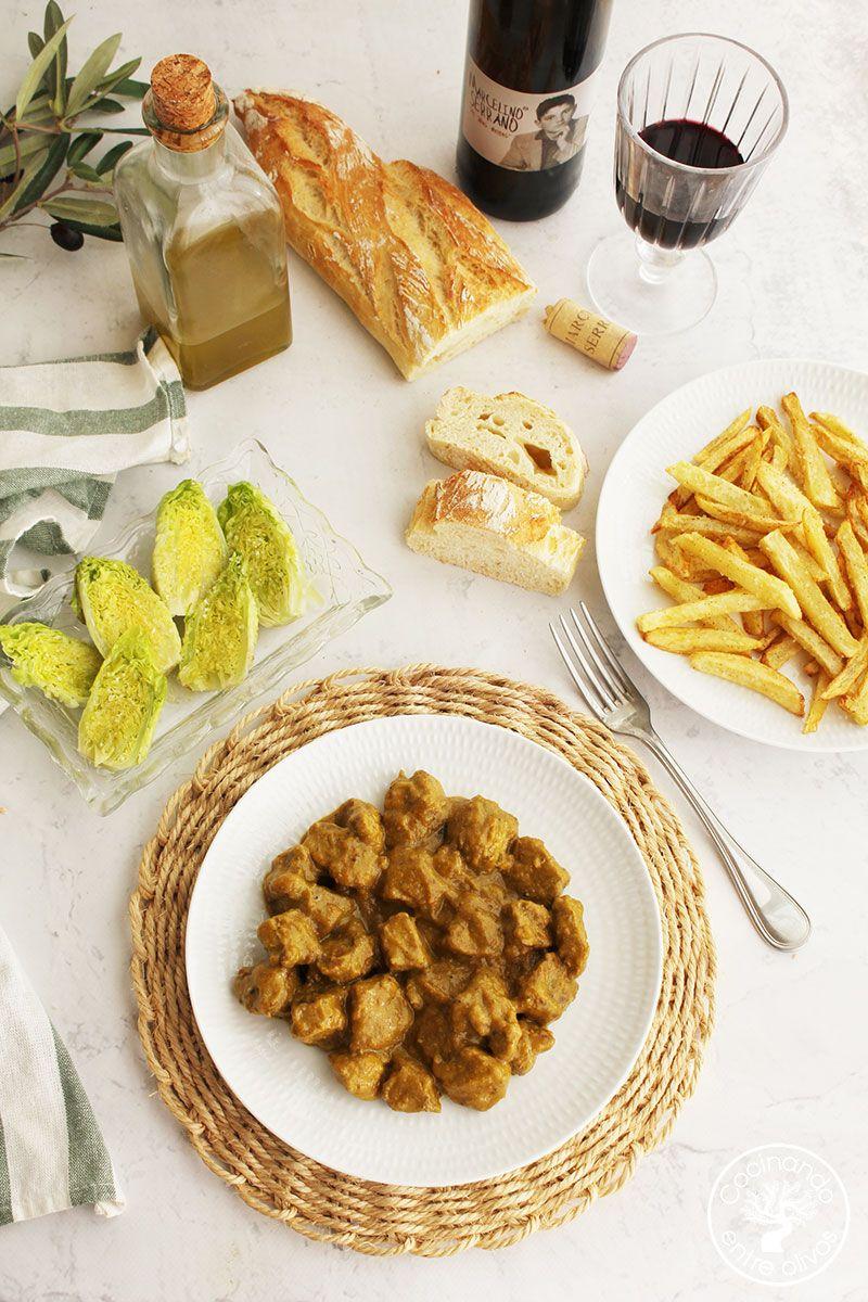 Carne a la suegra Jaén receta