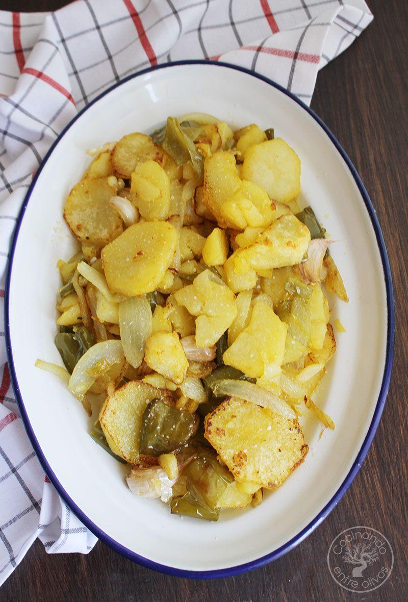 Patatas a lo pobre receta