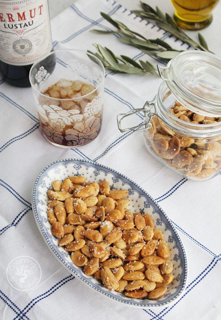 Como hacer Almendras fritas caseras