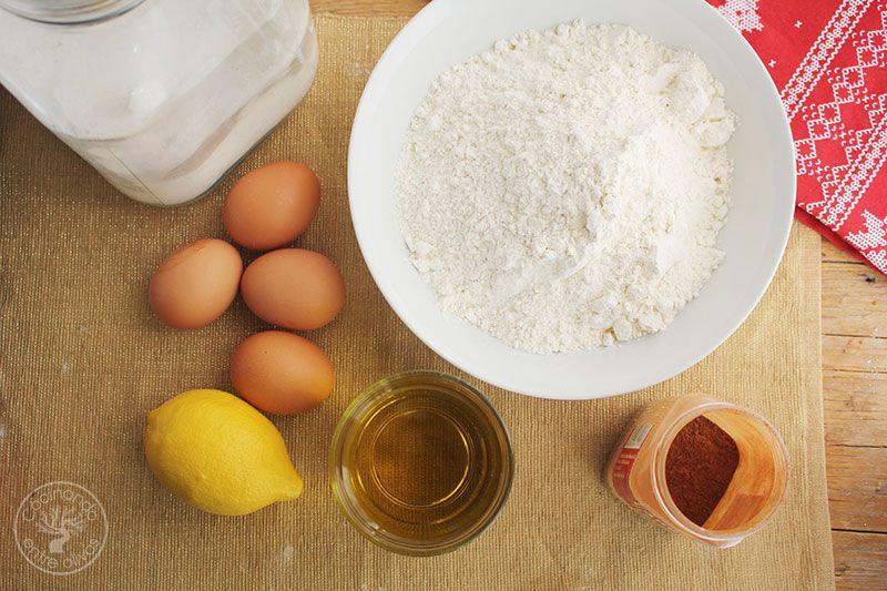Receta de mantecados de huevo