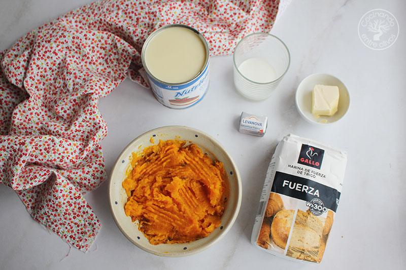 Receta de Bollitos de calabaza y leche condensada