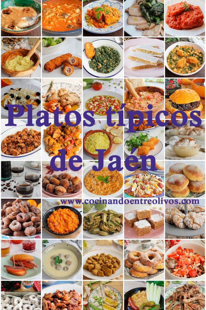 Platos típicos de Jaén