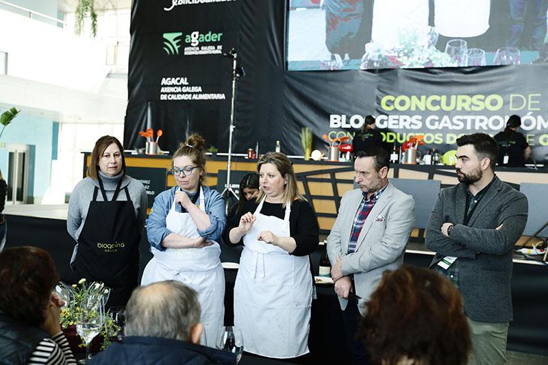 Ternera gallega, castañas y tarta de Santiago Blogcina Galicia