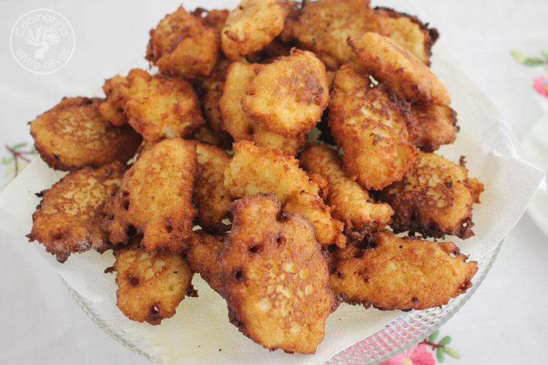 Chulas gallegas o fritos de pan de cea