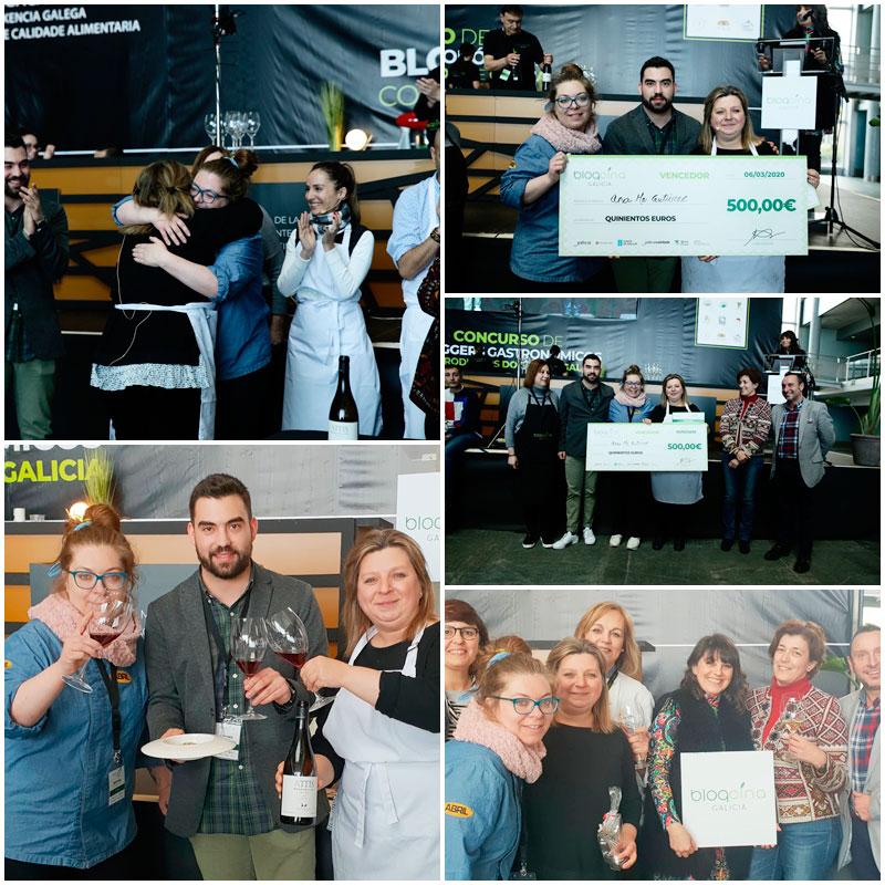 Ganadores Blogcina Galicia