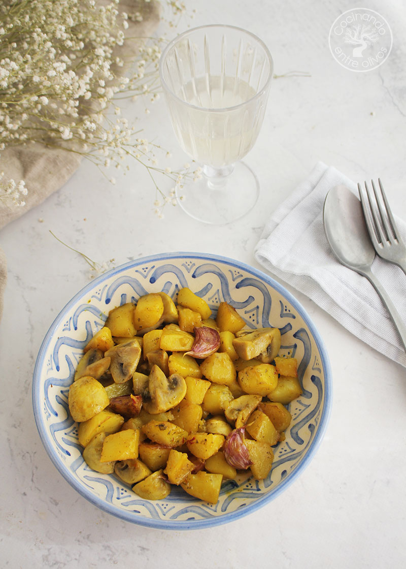Patatas baezanas receta
