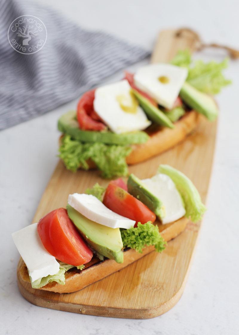 Torrijas saladas al vermut