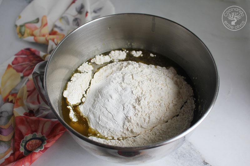 Torta de leche y aceite