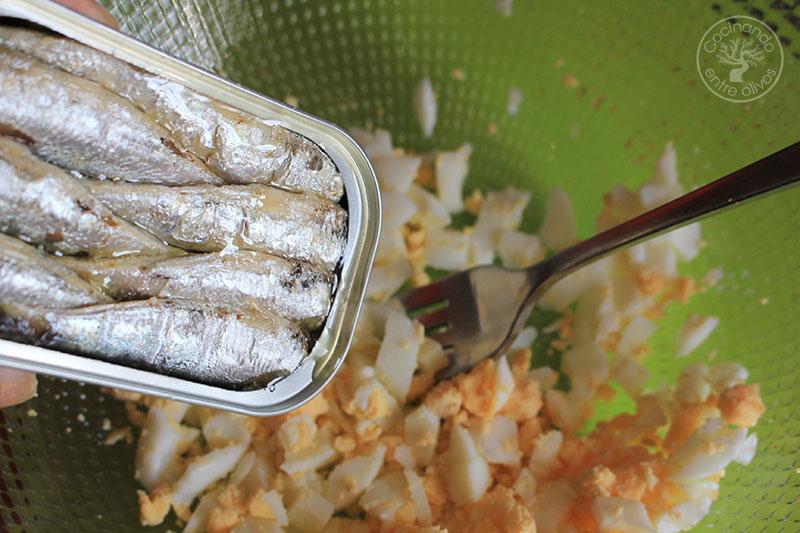 Empanadillas de sardinas de lata