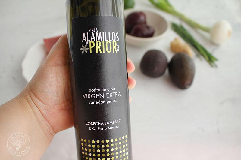 Aceite de oliva virgen extra Finca Alamillos del Prior