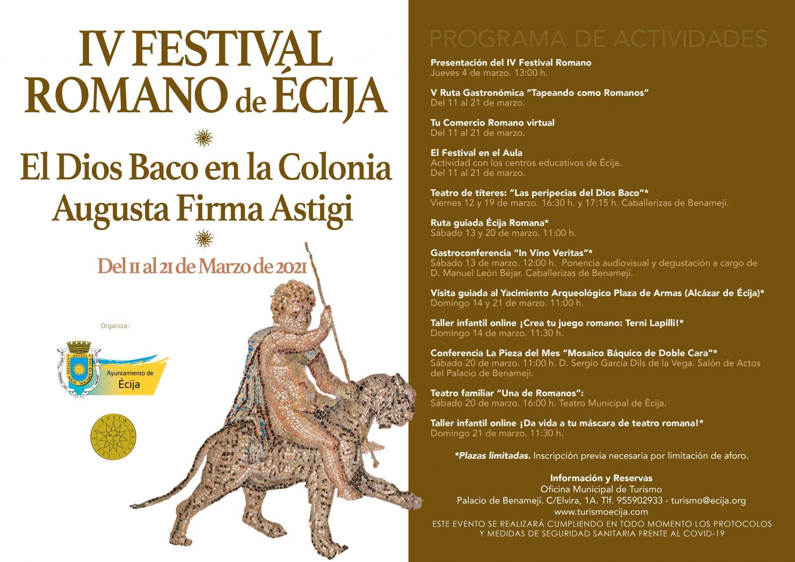 Festival romano Écija 2021