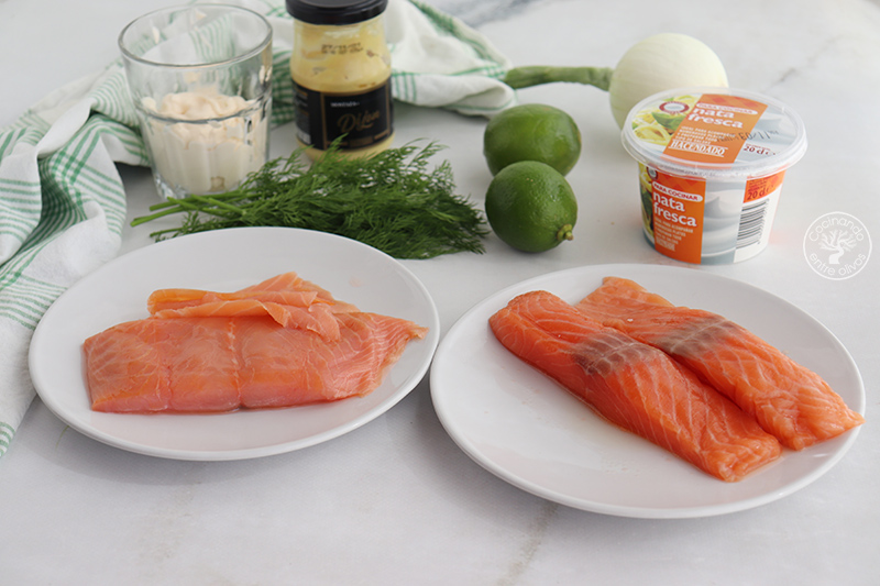 Rillettes de salmón