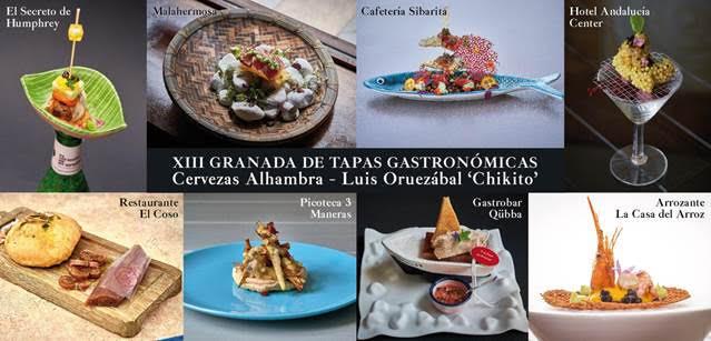 Granada de Tapas Gastronómicas 2021