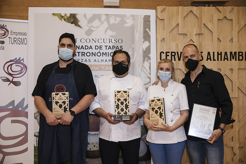 Premiados Granada de Tapas Gastronómicas 2021
