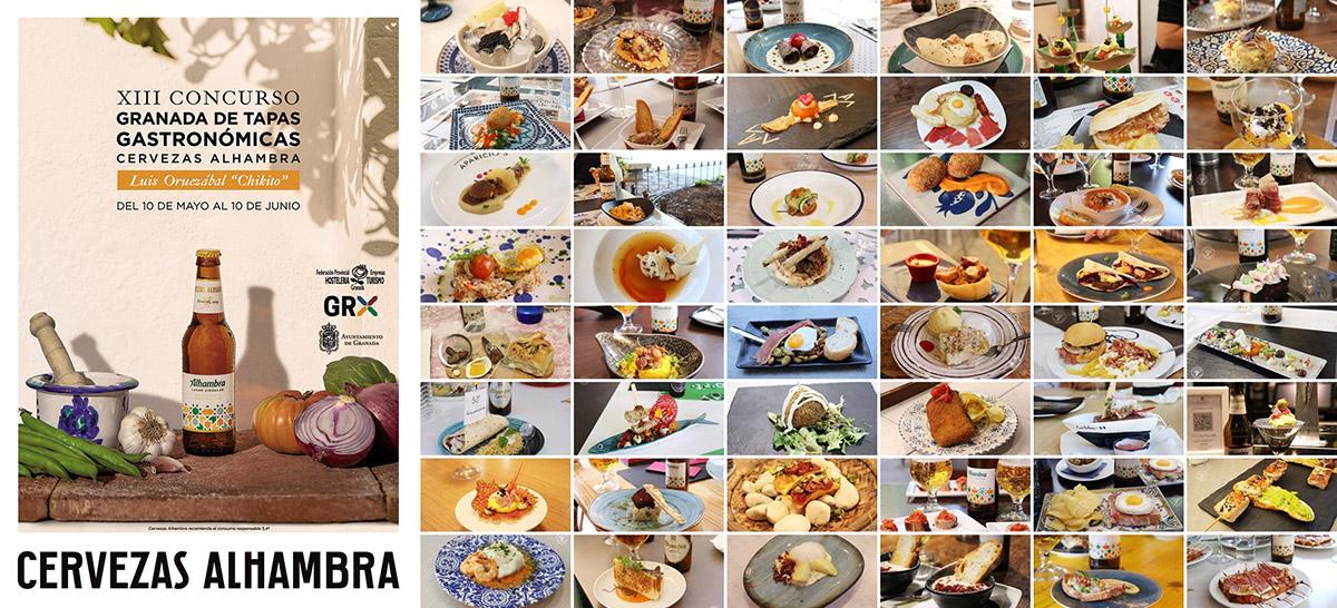 Todas las Tapas Granada de Tapas Gastronómicas 2021