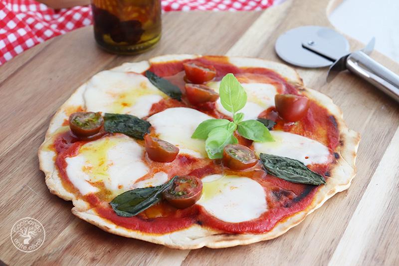 Pizza en sartén