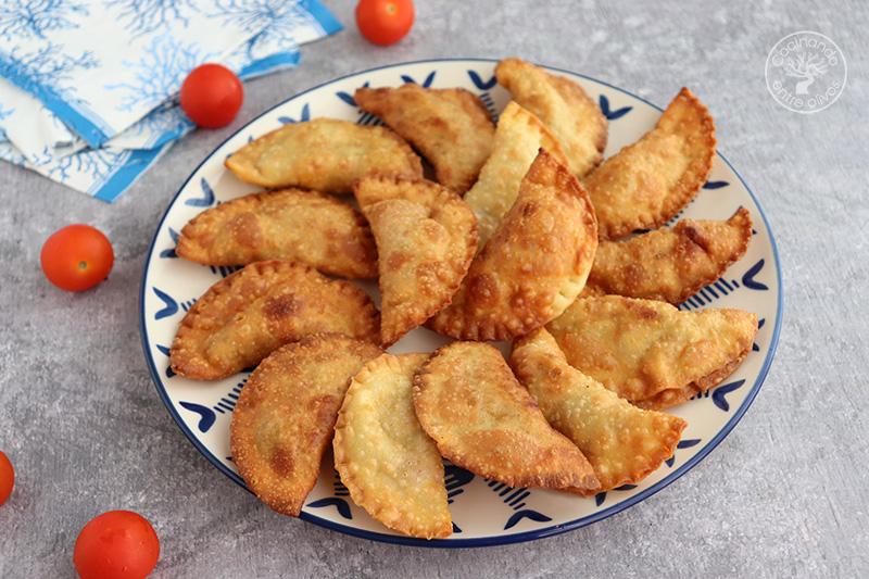 Empanadillas de atún fresco